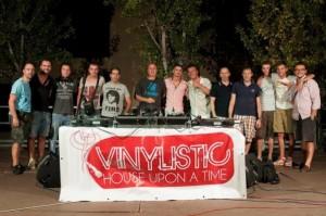 Alcuni associati di Vinylistic durante un evento ufficiale