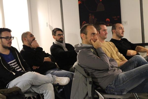 Alcuni degli associati presenti alla riunione annuale 2013 dell'Associazione Culturale Vinylistic