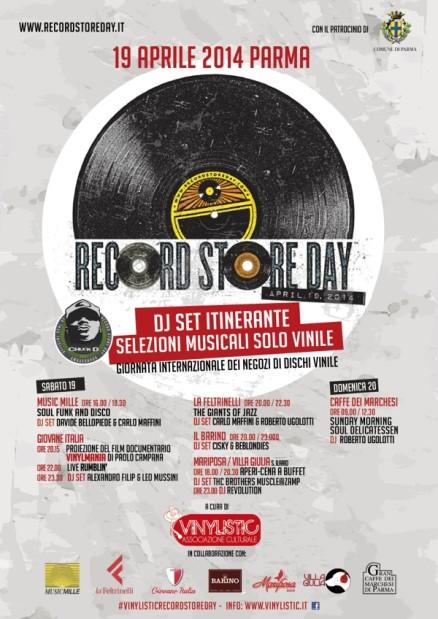 Locandina VINYLISTIC @ Record Store Day 600