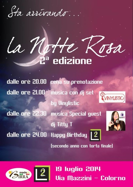 Notte Ros L2 Lounge Bar Colorno