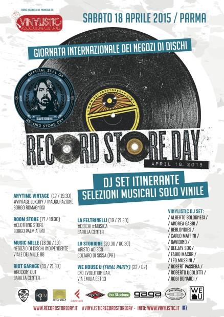 Record Store Day 2015 - Locandina Parma