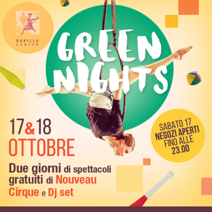 Green Nights 17-18 Ottobre 2015
