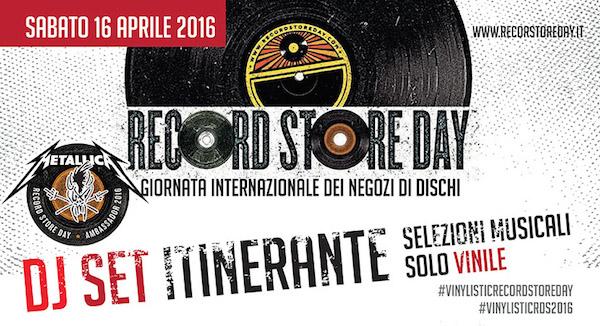 RECORD STORE DAY 2016 A PARMA E CREMONA BY VINYLISTIC