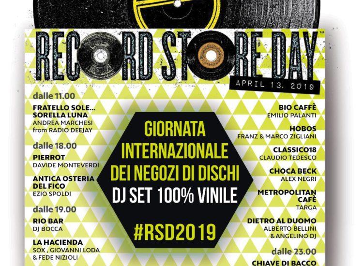 15 DJ SET 100% VINILE ORGANIZZATI A CREMONA PER CELEBRARE IL RECORD STORE DAY 2019