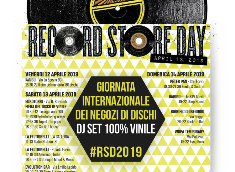 RECORD STORE DAY 2019 – PARMA PRONTA ALL'INVASIONE DEI VINILI