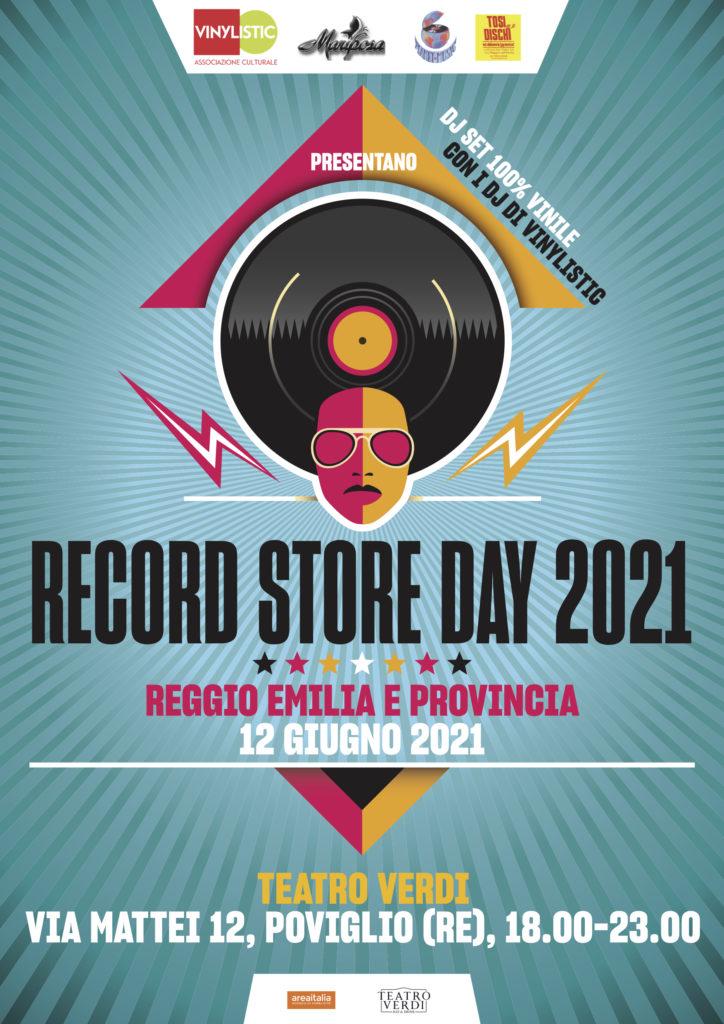 Record Store Day 2021 Reggio Emilia